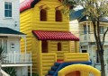 funny bouncing house real estate